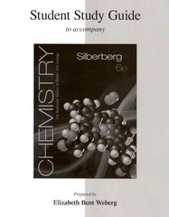 Student Study Guide for Silberberg Chemistry: The Molecular Nature of Matter and Change 6th edition 9780077340179 0077340175