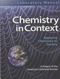 Laboratory Manual Chemistry in Context 7th edition 9780077334482 0077334485