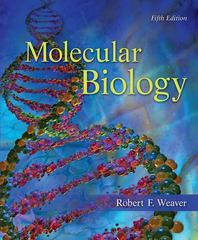 Molecular Biology 5th edition 9780073525327 0073525324