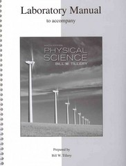 Lab Manual for Physical Science 9th edition 9780077344399 0077344391
