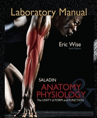 Laboratory Manual for Anatomy & Physiology 6th edition 9780077351144 0077351142