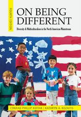 On Being Different 4th Edition 9780078117015 0078117011