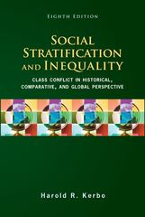 Social Stratification and Inequality 8th Edition 9780078111655 007811165X