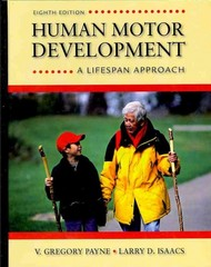 Human Motor Development 8th Edition 9780078022494 0078022495