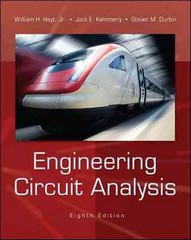 Engineering Circuit Analysis 8th Edition 9780073529578 0073529575