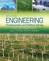 Engineering Fundamentals and Problem Solving 6th Edition 9780073534916 0073534919