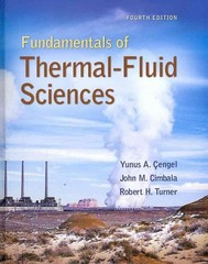 Fundamentals of Thermal-Fluid Sciences with Student Resource DVD 4th edition 9780077422400 0077422406