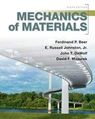 Mechanics of Materials 6th Edition 9780073380285 0073380288