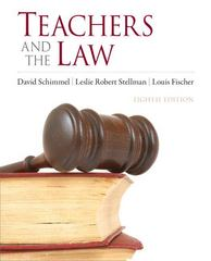 Teachers and the Law 8th edition 9780132564236 0132564238