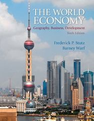 The World Economy 6th edition 9780321830395 0321830393