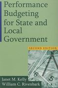 Performance Budgeting for State and Local Government 2nd Edition 9780765623942 0765623943