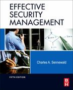 Effective Security Management 5th Edition 9780123820129 012382012X