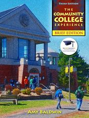 The Community College Experience, Brief Edition 3rd Edition 9780132998703 013299870X