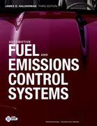 Automotive Fuel and Emissions Control Systems 3rd edition 9780132542920 0132542927