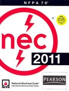 NFPA 70 National Electrical Code, 2011 Edition 1st Edition 9780132373180 0132373181