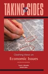 Taking Sides: Clashing Views on Economic  Issues 15th Edition 9780073527345 0073527343