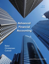 Advanced Financial Accounting with Connect Plus 9th edition 9780077899165 0077899164