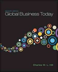 Global Business Today with Connect Plus 7th edition 9780077901882 0077901886