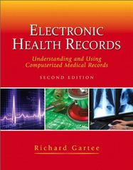 Electronic Health Records 2nd edition 9780132619271 013261927X