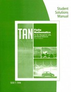 Student Solutions Manual for Tan's Finite Mathematics for the Managerial, Life, and Social Sciences, 10th 10th edition 9780840049049 0840049048