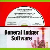 General Ledger Software for Warren/Reeve/Duchac's Financial & Managerial Accounting, 11th, Corporate Financial Accounting, 11th, and Managerial Accounting, 11th 11th edition 9781111529161 1111529167