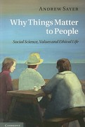 Why Things Matter to People 1st Edition 9780521171649 0521171644