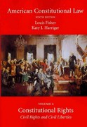 American Constitutional Law, Volume Two 9th Edition 9781594609558 1594609551