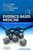Evidence-Based Medicine 4th Edition 9780702031274 0702031275
