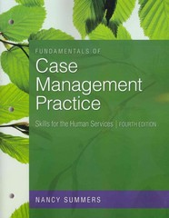 Fundamentals of Case Management Practice 4th edition 9780840033697 0840033699