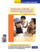 Marriages, Families, and Intimate Relationships, Books a la Carte Edition 2nd edition 9780205771363 020577136X