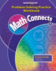 Math Connects, Grade 5, Problem Solving Practice Workbook 1st edition 9780021072934 0021072930