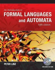 An Introduction to Formal Languages and Automata 5th Edition 9781449615536 1449615538