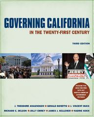 Governing California in the TwentyFirst Century 3rd Edition 9780393912029 0393912027