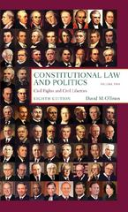 Constitutional Law and Politics 8th edition 9780393935509 0393935507