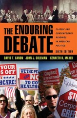 The Enduring Debate 6th edition 9780393912050 0393912051