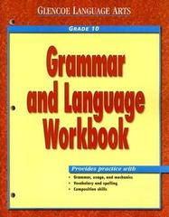 Grammar and Language Grade 10 1st Edition 9780028182964 0028182960