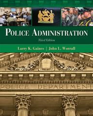 Police Administration 3rd Edition 9781439056394 1439056390