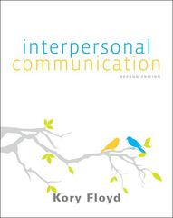 Interpersonal Communication 2nd Edition 9780073406756 0073406759
