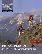 Principles of Financial Accounting Chapters 1-18 10th edition 9781118009314 1118009312