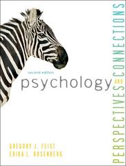 Psychology 2nd Edition 9780078035203 0078035201