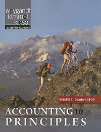 Paperback Vol. 2 of Accounting Principles 10th edition 9781118009284 1118009282
