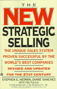 The New Strategic Selling 1st Edition 9780446673464 0446673463