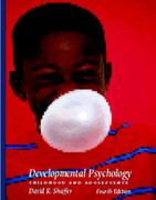 Developmental Psychology 4th edition 9780534264369 0534264360