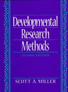 Developmental Research Methods 2nd edition 9780133988925 0133988929