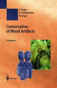 Conservation of Wood Artifacts 1st edition 9783540415800 3540415807