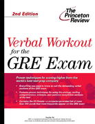 Verbal Workout for the GRE 2nd edition 9780375764646 037576464X