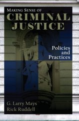 Making Sense of Criminal Justice 1st edition 9780195332445 019533244X
