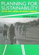 Planning for Sustainability 1st edition 9780415322867 0415322863
