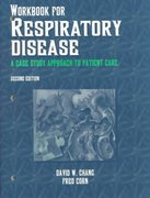 Workbook for Respiratory Disease 2nd edition 9780803601567 0803601565
