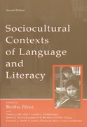 Sociocultural Contexts of Language and Literacy 2nd edition 9780805843415 0805843418